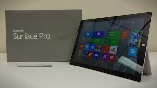 Microsoft Surface Pro 3 (i7) - Unboxing and Review!