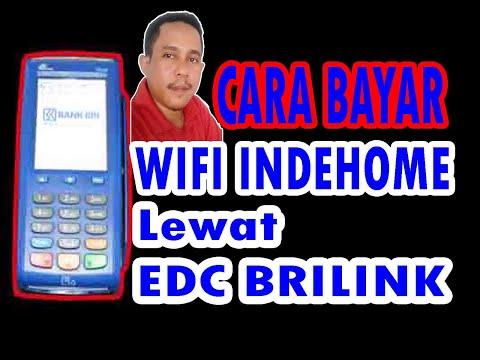 Cara bayar telkom / Indihome di EDC BRI link