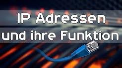 IP Adressen und ihre Funktion