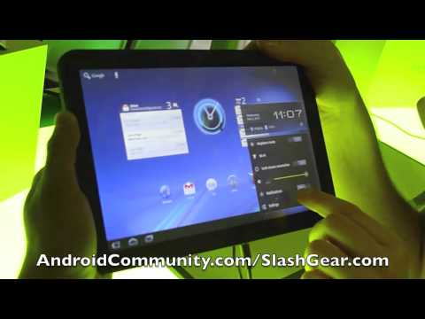 YouTube - Android 3.0 Honeycomb Hands-on demo.flv