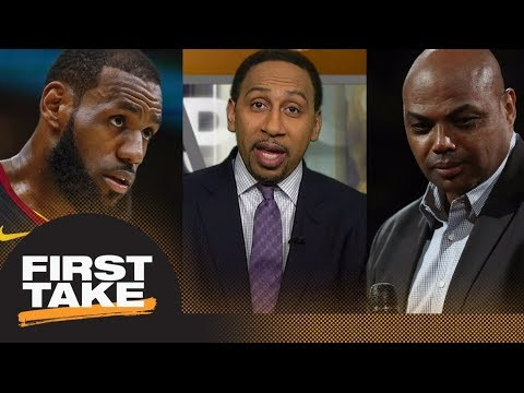 Stephen A. on Charles Barkley calling LeBron James a drama queen: Many agree | First Take | ESPN