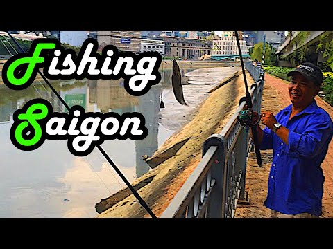 Travel - Fishing in Vietnam - Saigon River