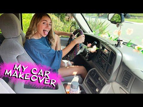 KAYLA'S 15 YEAR OLD CAR MAKEOVER | Kayla Davis