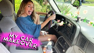 KAYLA'S 15 YEAR OLD CAR MAKEOVER | Kayla Davis