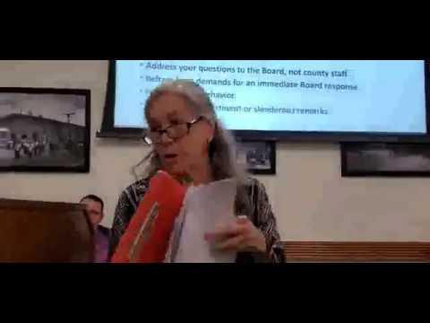 No slide for FDEP Consent Order --Carol Mosley
