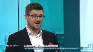 Marlon Amoyal zu den Entwicklungen in den Brexit-Verhandlungen am 22.01.19