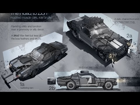 CONCEPT DESIGN: Vehicles, Mod Max (with sped up ending)