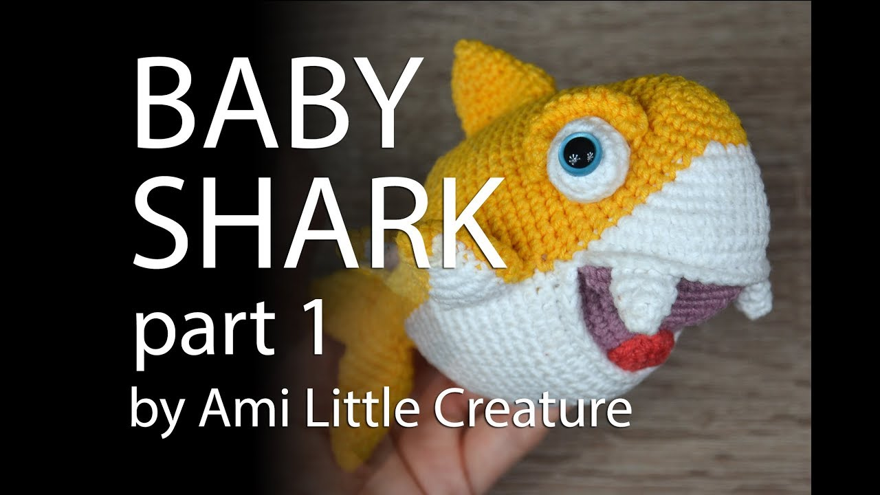 PATTERN: Shawn the shark - Crochet shark pattern - amigurumi shark ... | 720x1280