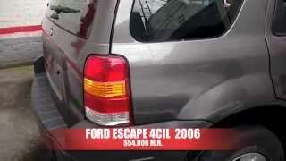 Accidentado Ford Escape 2006 AutoComercia