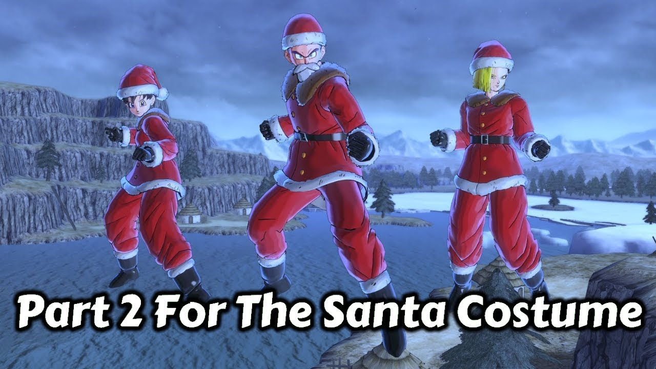 New Christmas Costumes Xenoverse 2 2020 How To Get The Top And Bottom Of The Santa Costume! | Xenoverse 2