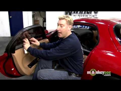 Tint Car Windows - Installing the Window Film