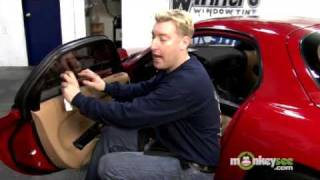 Tint Car Windows - Installing the Window Film