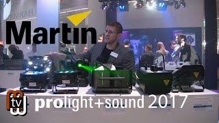 Martin - новинки компании (Prolight+Sound 2017)