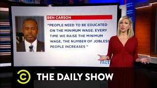 What the Actual Fact? - Truth and Fiction in the GOP Debate: The Daily Show