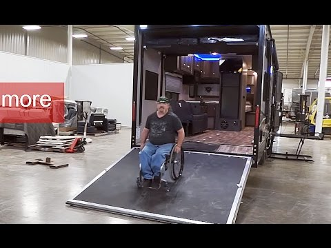 Wheelchair Accessible Toy hauler