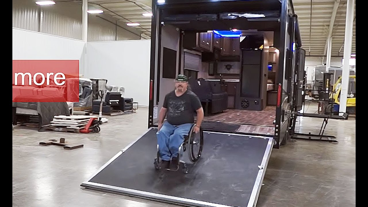 Wheelchair Hauler Windsor Chair Company Accessible Toy Youtube