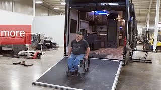 Wheelchair Accessible Toy hauler thumbnail