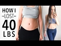 My Weight Loss Story - How I Lost 40 Lbs! | Before & After Pictures