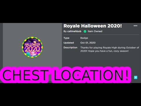 Halloween 2020 Playing Near Me CHEST LOCATION IN THE MYTHICAL MAZE IN ROBLOX ROYALE HIGH