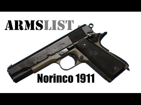 The Norinco 1911, A Chinese copy of an Iconic American Pistol