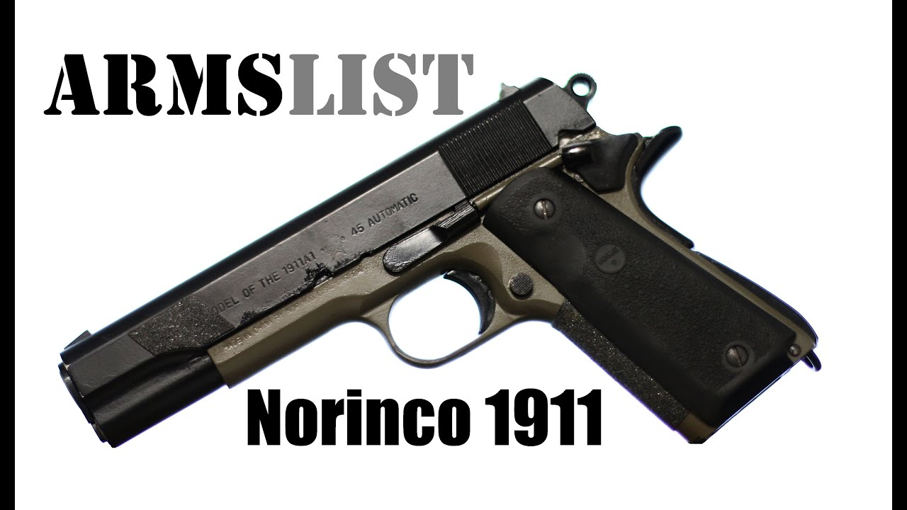 The Norinco 1911 A Chinese Copy Of An Iconic American Pistol Youtube