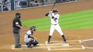 Carlos Correa at bat....Minute Maid Park...9/6/15
