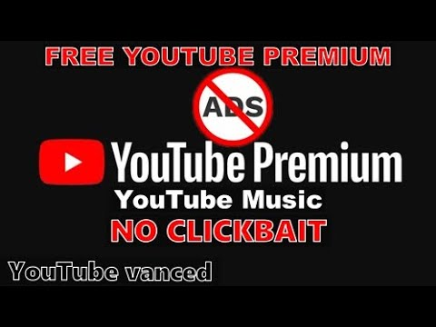 Free YouTube MOD with all premium features + YT Music (Quick Guide) (No root)