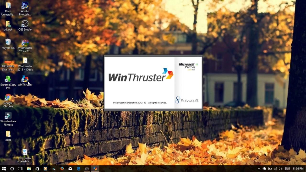 winthruster serial numarası