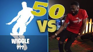 50 FORTNITE dances even in real life. Who wins?