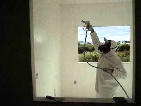 Pintar express lixando e pintando com m quinas youtube - Maquina para pintar paredes ...