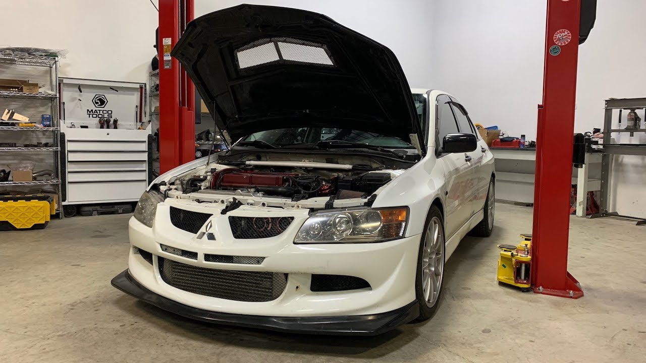all-the-problems-with-my-evo-8-rs