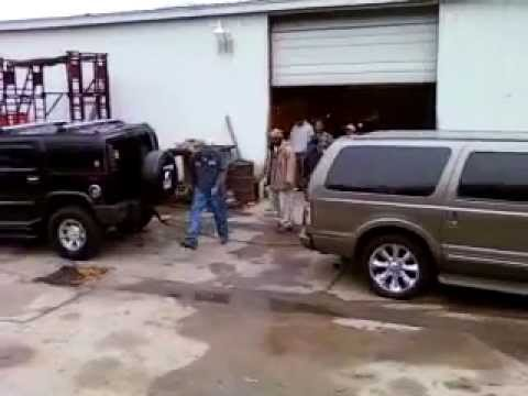 hummer h2 vs excursion turbo diesel youtube. Black Bedroom Furniture Sets. Home Design Ideas