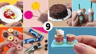 9 Comidas fáceis de fazer para Boneca Barbie - DIY Miniatura