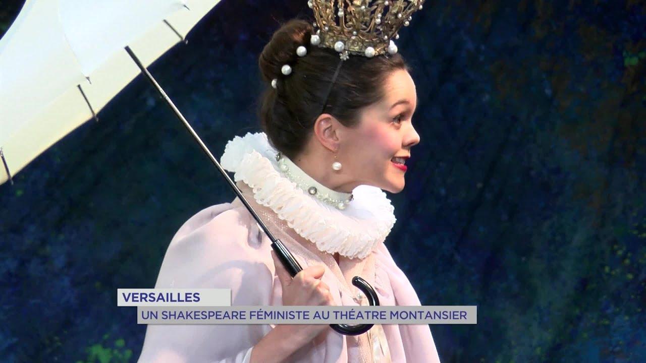 Yvelines | Versailles : Un Shakespeare féministe au théâtre Montansier