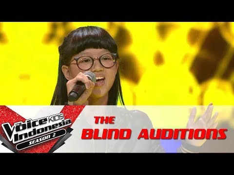 Kim 'Habits (Stay High)' | The Blind Auditions | The Voice Kids Indonesia Season 2 GTV 2017