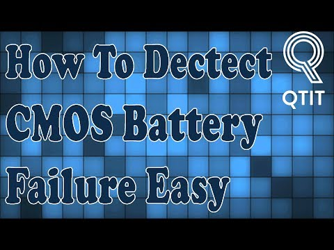 How To Dectect CMOS Battery Failure Of Your Computer