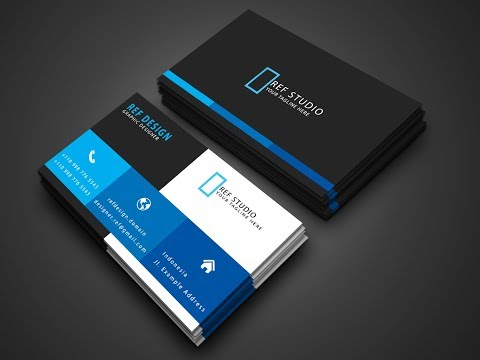 Creative Business Card Design in Photoshop - Photoshop Tutorial thumbnail