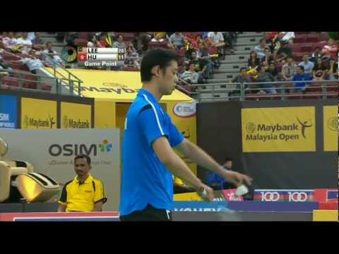 QF - MS - Lee Chong Wei vs Hu Yun - 2013 Maybank Malaysia Open