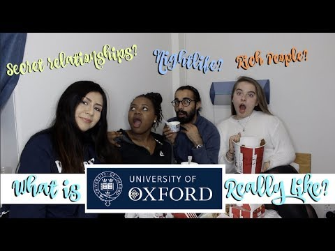 POSH PEOPLE? SEX? DRUGS? RELATIONSHIPS? What Oxford University is REALLY like!
