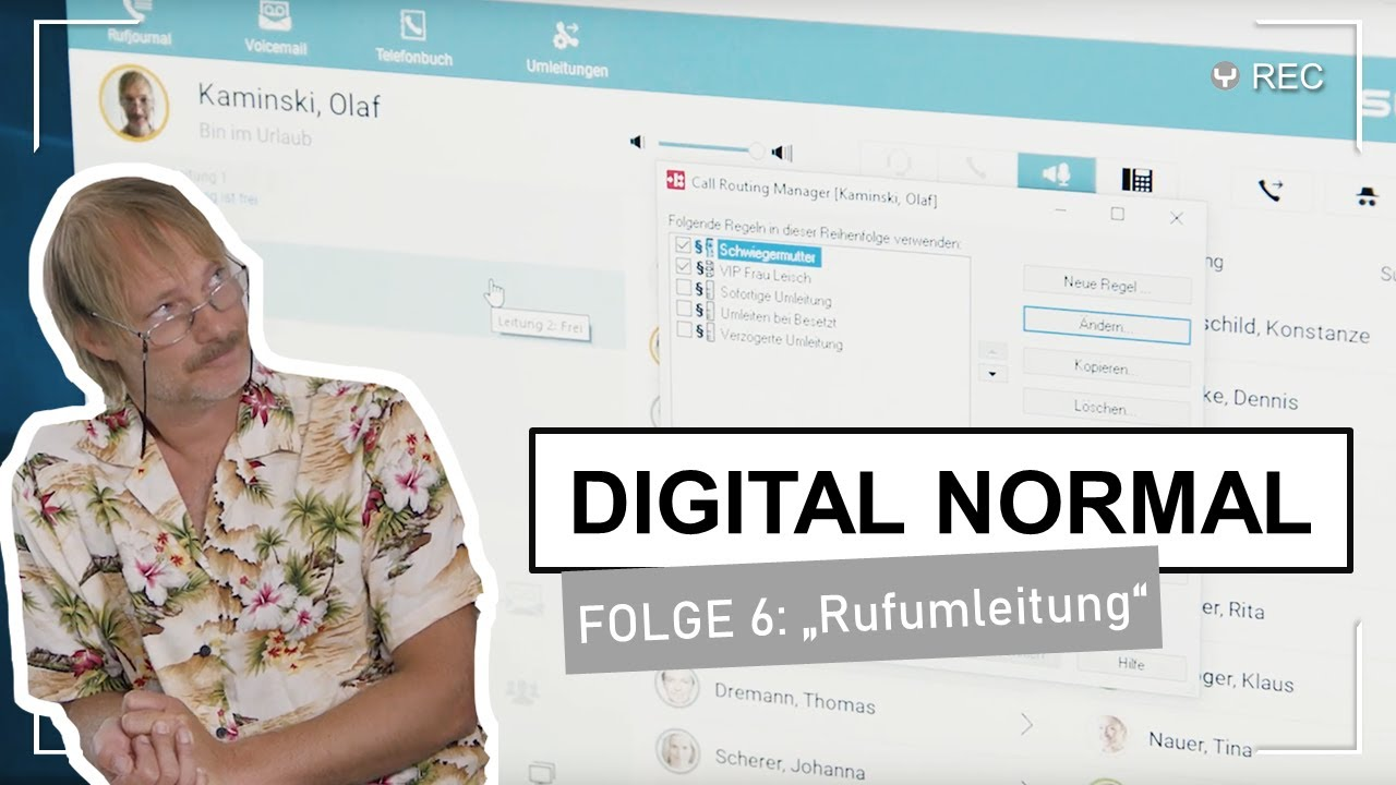 "DIGITAL NORMAL mit Swyx - Folge 6 ""Rufumleitung"""