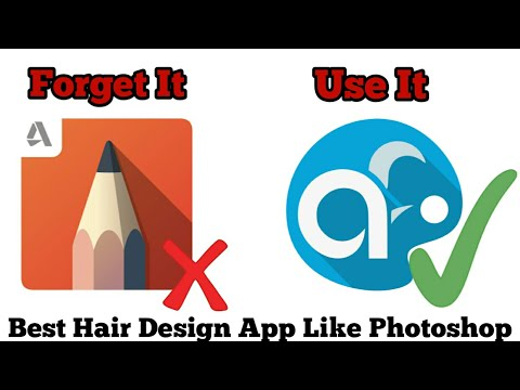 Forget Skechbook Use Artflow For Hair Design | Real Cb Edits Design App For Android Like Photoshop |