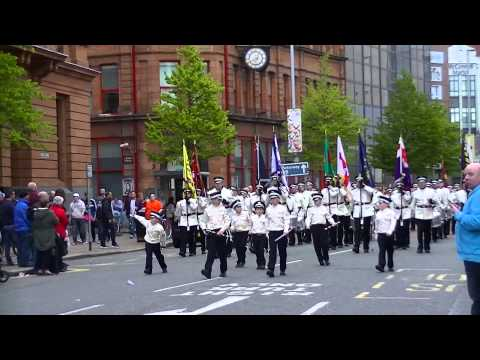 36th Ulster Division Centenary Parade Returning to Shankill 09/05/15