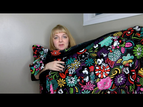My Huge Collection of Vera Bradley Throws Review and Comparison