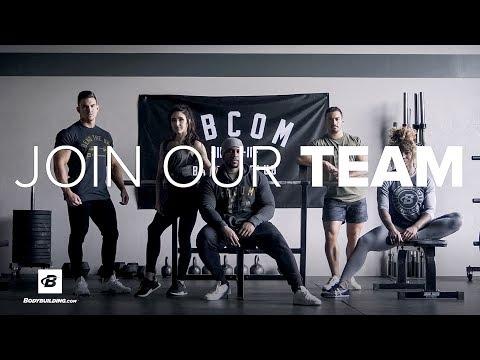Join TEAM Bodybuilding.com | #TEAMBBCOM