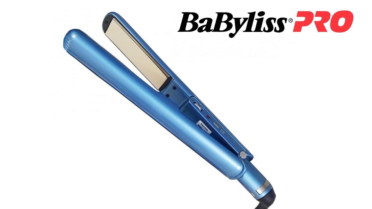 723704e12 Prancha Babyliss Pro Nano Titanium 25mm - Pimenta Linda - YouTube