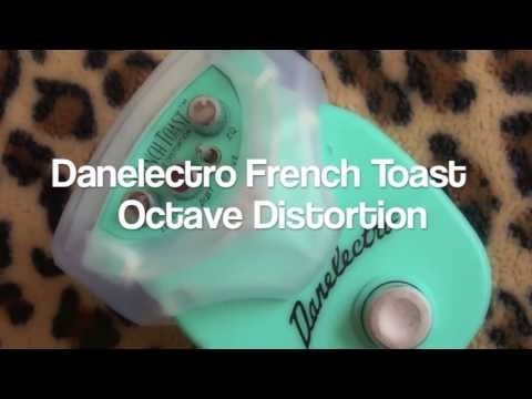 danelectro french toast octave fuzz demo youtube. Black Bedroom Furniture Sets. Home Design Ideas