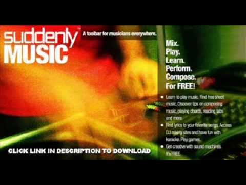 Download Free Suddenly Music Toolbar for Free Music
