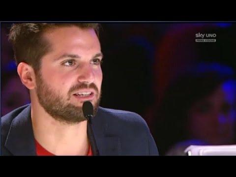 Il contadino guatemalteco. Semifinale Italia's Got Talent 2016. Gianluca Blumetti.