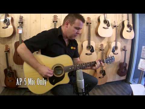 Maton AP5 Pro Pickup | Product Demo