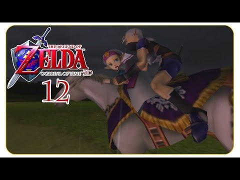 Flucht aus Schloss Hyrule #12 The Legend of Zelda: Ocarina of Time [3DS] - Let's Play